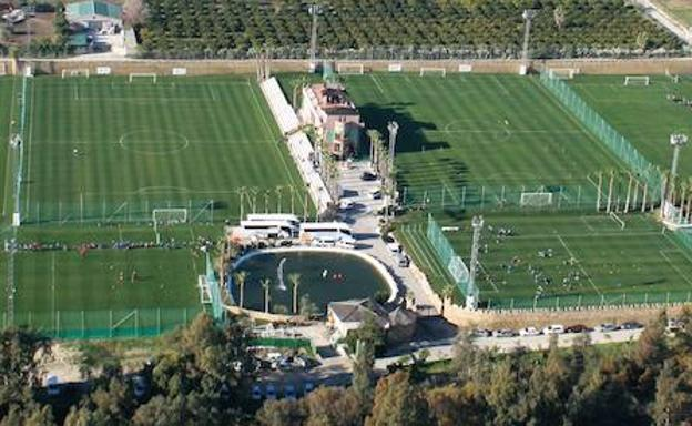 Instalaciones del Marbella Football Center.