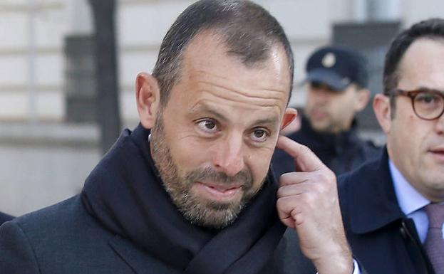 Sandro Rosell./Reuters