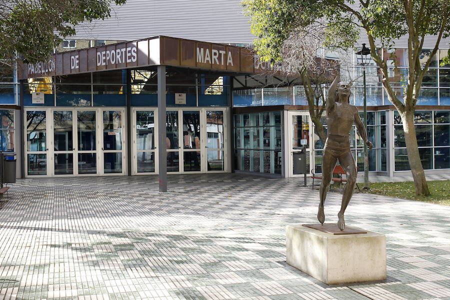 El pabell n pierde el nombre de marta dom nguez y se llamar espa a duero el norte de castilla - Pabellon de deportes madrid ...
