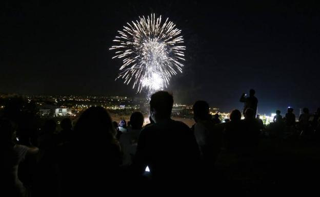 Fuegos artificiales. /El Norte