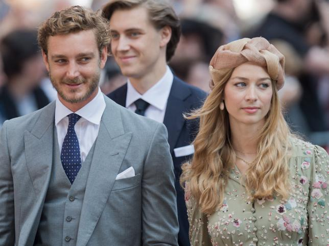 Beatrice Borromeo y Pierre Casiraghi./