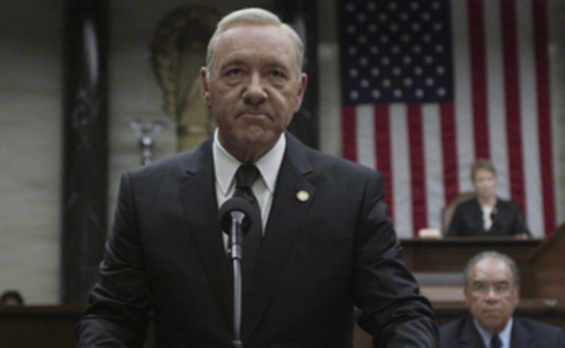 Kevin Spacey, en 'House of Cards'. /Netflix