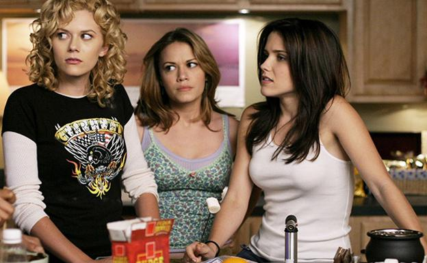 Una secuencia de 'One tree hill'.