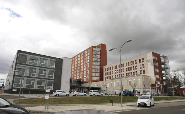 Hospital Río Carrión de Palencia./Antonio Quintero