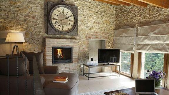 Hoteles con chimenea el norte de castilla for Hoteles con chimenea