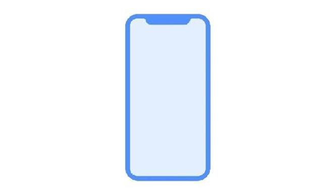 Diseño del iPhone 8. /Twitter