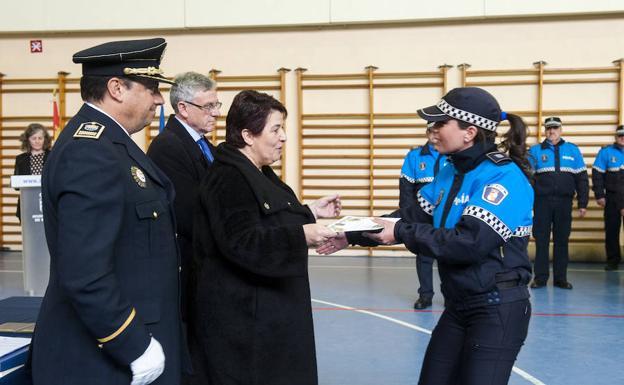 La Policía Local Reconoce En Su Fiesta El Trabajo En Las Nevadas El Norte De Castilla