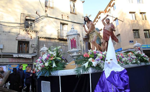El paso La Flagelación del Señor, de Nueva Segovia. /Antonio Tanarro