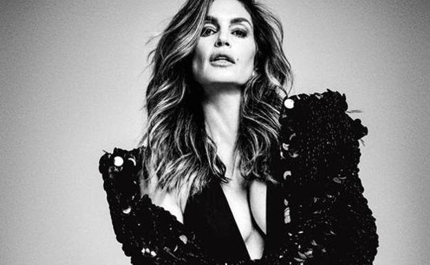 Cindy Crawford./