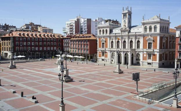 Resultado de imagen de Plaza Mayor de Valladolid.