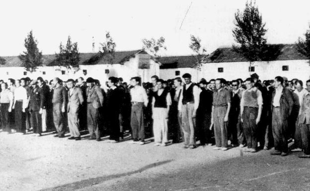 Los campos de concentración en Castilla y León.