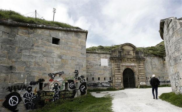 Fuerte de San Cristóbal, en Pamplona.