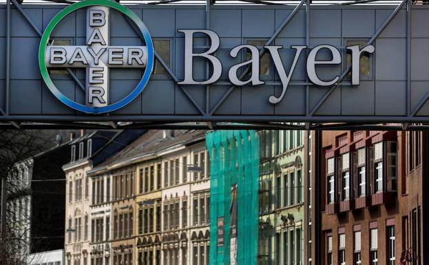 El logo de Bayer./Reuters