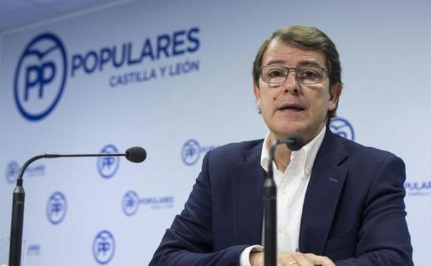053bda360629 Mañueco  «Aceptamos las 18 propuestas de Ciudadanos sobre regeneración  política»