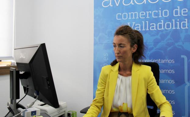 María Balsa, secretaria general de la Agrupación Vallisoletana de Comercio./Ical