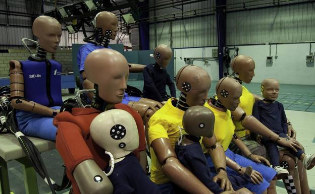 Diferentes modelos de Dummies en Cidaut.