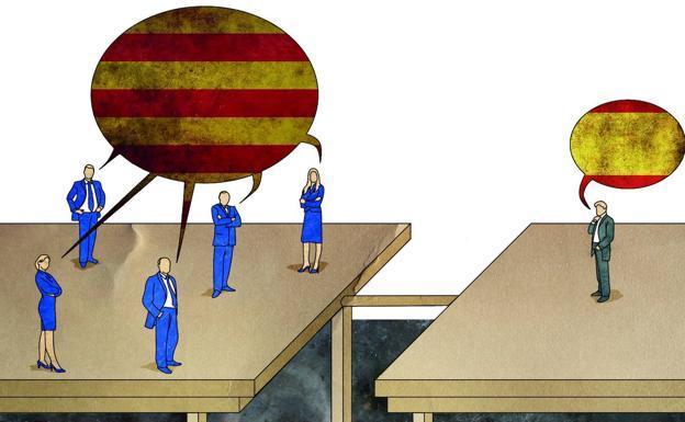 La mesa de diálogo sobre Cataluña   El Norte de Castilla
