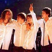 Take That cumple su promesa con un concierto en Barcelona
