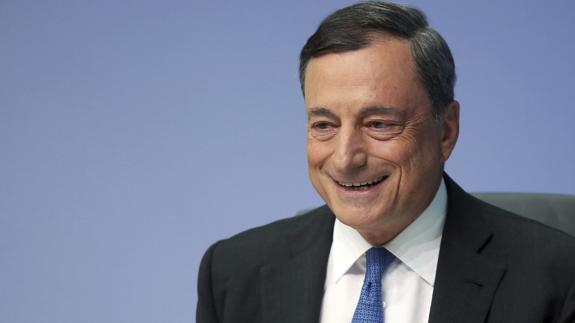 El presidente del Banco Central Europeo (BCE), Mario Draghi./
