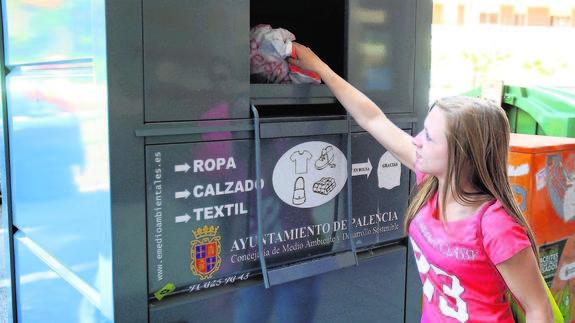 Contenedores de ropa usada en madrid capital