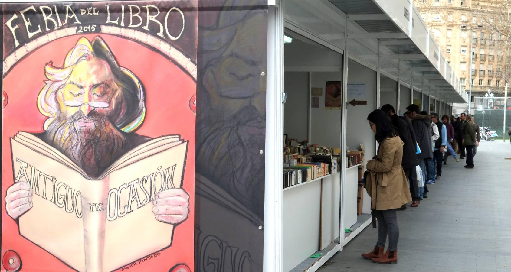 Arranca en Valladolid la Feria del Libro Antiguo y de