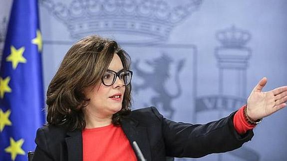 597f5a4a50 Soraya Sáenz de Santamaría cambia de imagen   El Norte de Castilla